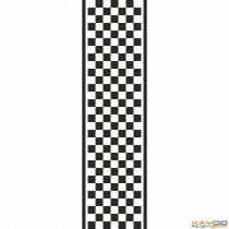 """Rennstreifen """"Flagge B"""" - 7er/28cm"""