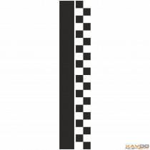 """Rennstreifen """"Flagge C"""" - 2er/21cm"""