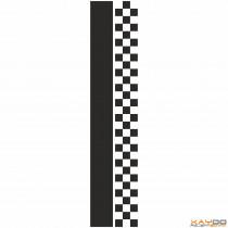 """Rennstreifen """"Flagge C"""" - 3er/21cm"""