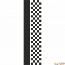 """Rennstreifen """"Flagge C"""" - 5er/27cm"""