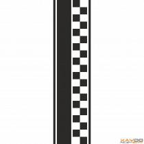 """Rennstreifen """"Flagge D"""" - 2er/26cm"""