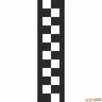 "Rennstreifen ""Flagge E"" - 2er/26cm"