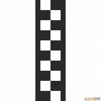"Rennstreifen ""Flagge E"" - 2er/30cm"