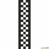 "Rennstreifen ""Flagge E"" - 3er/25cm"