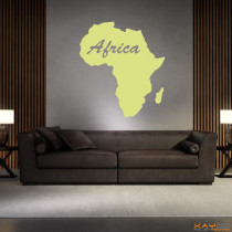 "Wandtattoo ""Afrika"""