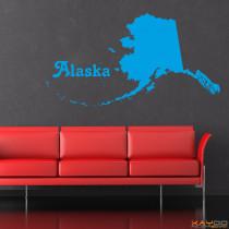 "Wandtattoo ""Alaska"""