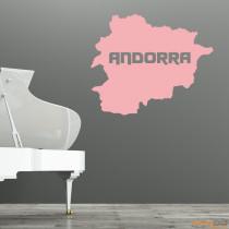 """Wandtattoo """"Andorra"""""""