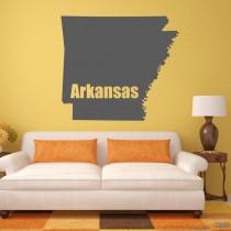 "Wandtattoo ""Arkansas"""