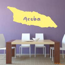 "Wandtattoo ""Aruba"""