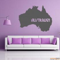 """Wandtattoo """"Australien"""""""