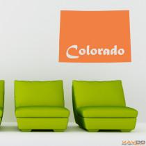 "Wandtattoo ""Colorado"""