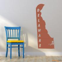 "Wandtattoo ""Delaware"""