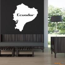 """Wandtattoo """"Ecuador"""""""