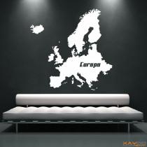 "Wandtattoo ""Europa"""