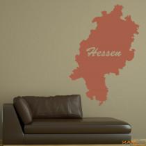 "Wandtattoo ""Hessen"""