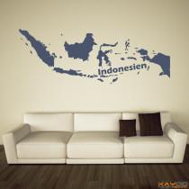 """Wandtattoo """"Indonesien"""""""