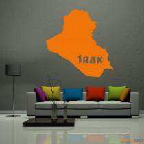 "Wandtattoo ""Irak"""