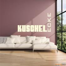 "Wandtattoo ""Kuschelecke"""