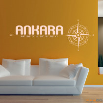 "Wandtattoo ""Ankara"""