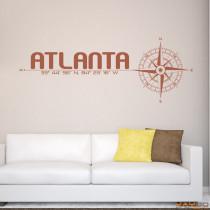 "Wandtattoo ""Atlanta"""