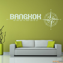"Wandtattoo ""Bangkok"""