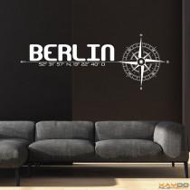 "Wandtattoo ""Stadt Berlin"""