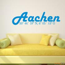 """Wandtattoo """"Aachen"""""""