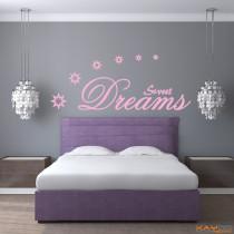 "Wandtattoo ""Sweet Dreams"""
