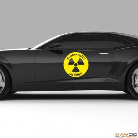 "Autoaufkleber ""Atomkraft? Ja Bitte! V.3"""