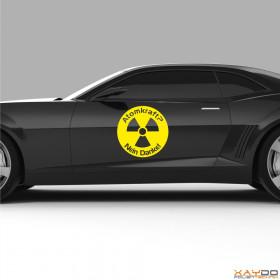 "Autoaufkleber ""Atomkraft? Nein Danke! V.4"""