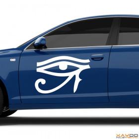 "Autoaufkleber ""Auge des Ra"""