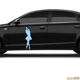 """Autoaufkleber """"Ballerina"""""""