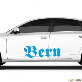 """Autoaufkleber """"Bern"""""""