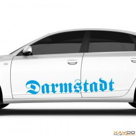 "Autoaufkleber ""Darmstadt"""
