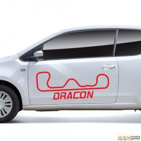 "Autoaufkleber ""Dracon"""