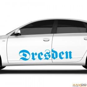 "Autoaufkleber ""Dresden"""