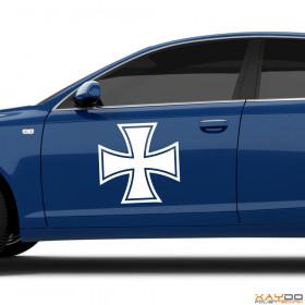 "Autoaufkleber ""Eisernes Kreuz"""