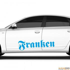 """Autoaufkleber """"Franken"""""""