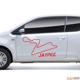 "Autoaufkleber ""Jaypee"""