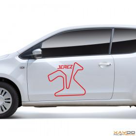 "Autoaufkleber ""Jerez"""