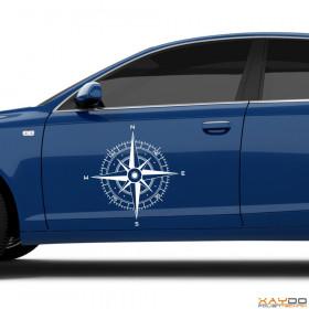 "Autoaufkleber ""Kompass"""