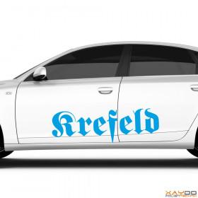"""Autoaufkleber """"Krefeld"""""""