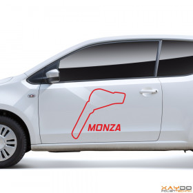 "Autoaufkleber ""Monza"""