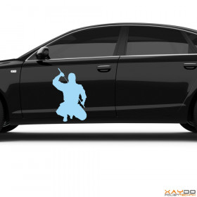 "Autoaufkleber ""Ninja"""