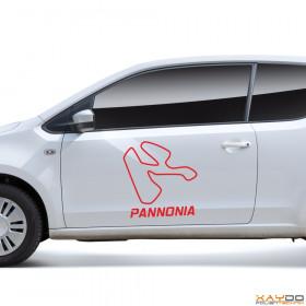 "Autoaufkleber ""Pannonia"""