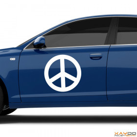 """Autoaufkleber """"Peace Zeichen"""""""