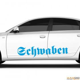 """Autoaufkleber """"Schwaben"""""""