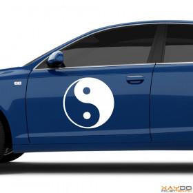 "Autoaufkleber ""Yin & Yang"""