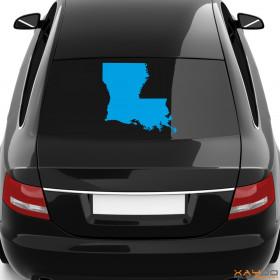 "Autoaufkleber ""Louisiana"""