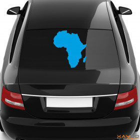 "Autoaufkleber ""Afrika"""